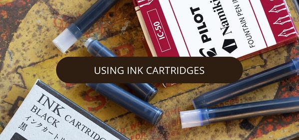 Using Ink Cartridges