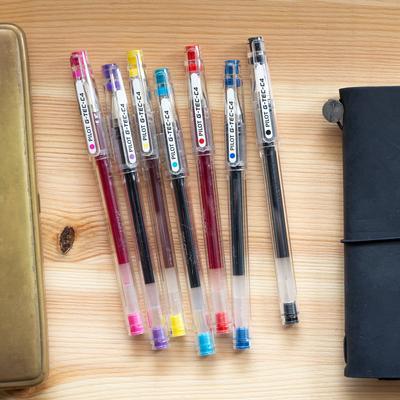 Pilot G-TEC-C Ballpoint Pen - Ultra Fine - Yellow