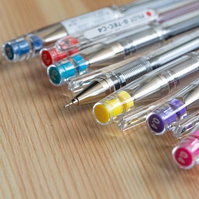 Pilot G-TEC-C Ballpoint Pen - Ultra Fine - Red