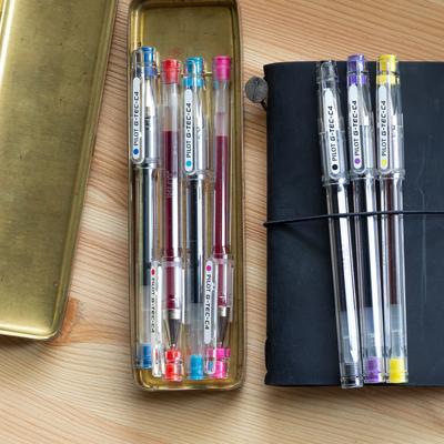 Pilot G TEC C Ballpoint Pen - Ultra Fine - Yellow